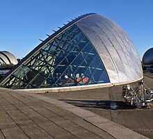 Glasgow Science Centre, BBC Scotland, Clydeport Crane, River Clyde by Escocia Photography