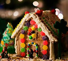 Christmas Gingerbread house by Jerome Obille