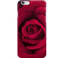 Rosey Red iPhone Case/Skin