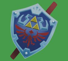 Shield of Hyrule by Skeletal-Raven
