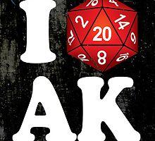I D20 Alaska by Tee NERD