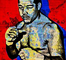JOE LOUIS-BROWN BOMBER 2 by OTIS PORRITT