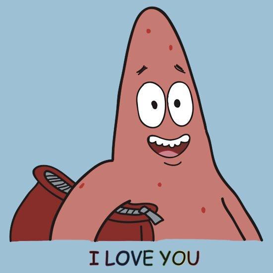 Patrick Star I Love You Patrick star  quot i love you quot I Love You Gif Patrick