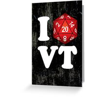I D20 Vermont Greeting Card