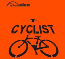Cycling T Shirt - Cyclist by ProAmBike