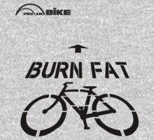 Cycling T Shirt - Burn Fat by ProAmBike
