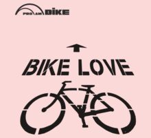 Cycling T Shirt - Bike Love by ProAmBike