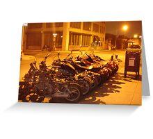 Williamsburg bikes Greeting Card