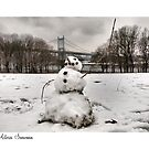 Astoria Snowman by ponycargirl