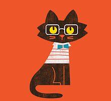 Fritz the preppy cat by Budi Satria Kwan