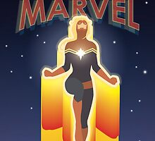 Coming Soon: Captain Marvel by avokes