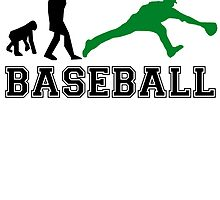 Baseball Fielder Evolution (Green) by kwg2200