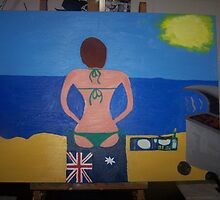 Australian Babe's Beach Barbie by SashyKat