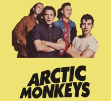 Arctic Monkeys Yellow by znojc