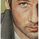 Fox Mulder by Sarah  Mac