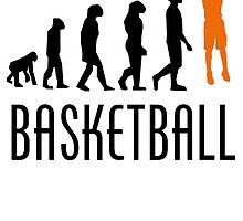 Basketball Jump Shot Evolution (Orange) by kwg2200