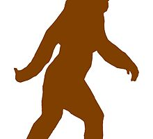 Bigfoot Silhouette by kwg2200