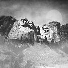 Rushmore at Night by peaky40