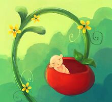 Fruity flowery baby by Petra van Berkum