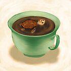 Tea Turtle by Petra van Berkum
