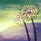 Flower Silhouettes by Petra van Berkum