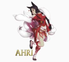 Ahri League Of Legends by billycorgan84