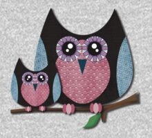 Owls - Texture owls by ascheb