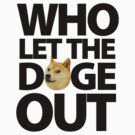 Who let the doge out [black] by cocolima