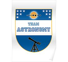 Team Astronomy Poster