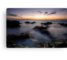 Blue and Gold, Maui Canvas Print
