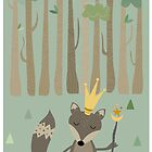 The King of the Wood by estherilustra