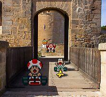 Mario Kart Castle Circuit by VictorSauron