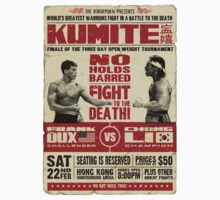 Kumite Fight Poster by ronin47design