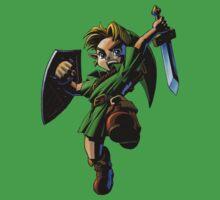 Link fighting by Hyruler