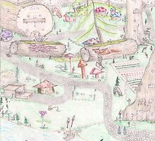 Gnome Village 1 by SteveHanna