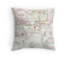 Gnome Village 1 Throw Pillow