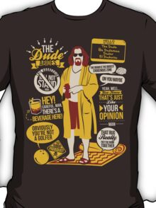 The Dude Quotes T-Shirt