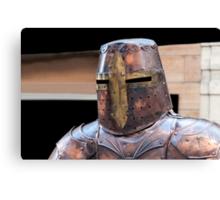 Medieval armour. Canvas Print