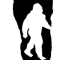 Bigfoot Footprint by kwg2200