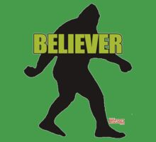 Bigfoot Believer T-Shirt by thebigfootstore
