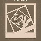 No243 My Memento minimal movie poster by Chungkong