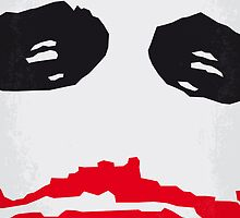 No245 My The Dark Knight minimal movie poster by Chungkong