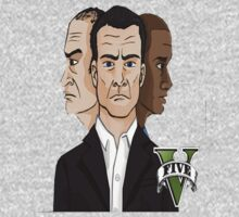 GTA V Characters  by Freezer .
