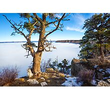 Rare grand Canyon puffy fog Photographic Print