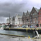 Bergen Harbour (1) by Larry Lingard-Davis