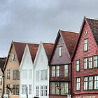 Bergen Harbour (2) by Larry Lingard-Davis