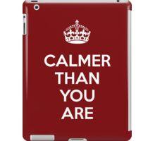 Calmer Lebowski iPad Case/Skin