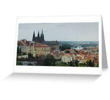 Mist Over Prague Greeting Card