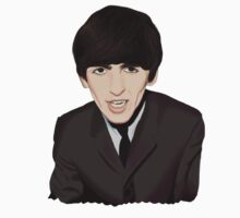 George Harrison by AppleScrufffs