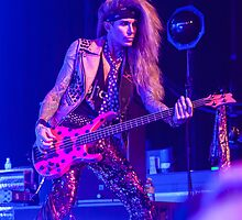 Lexxi Foxx of Steel Panther @ Hordern Pavilion, Sydney - Dec 7, 2013 by HoskingInd